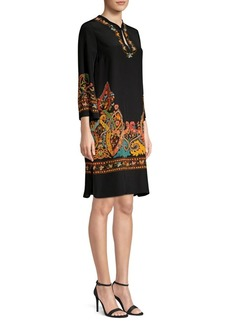 Etro Silk Paisley Tunic Dress