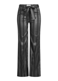 Etro Silk Wide-Leg Pants