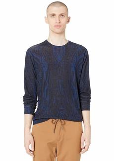 Etro Silk/Cashmere Long Sleeve Sweater