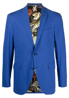 Etro single-breasted fitted blazer