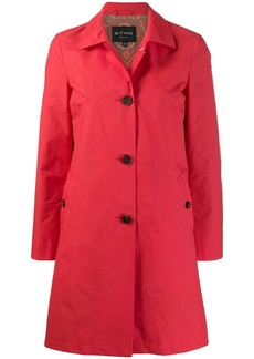 Etro single-breasted fitted coat