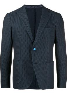 Etro single-breasted woven blazer