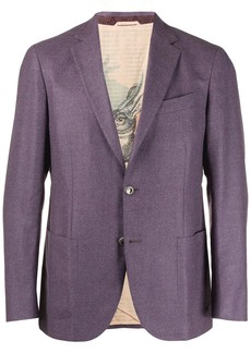 Etro slim-fit blazer