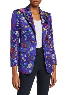 Etro Small Floral Brocade Jacket