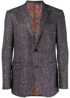 Etro speckled blazer