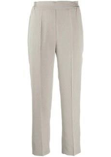 Etro straight leg cropped trousers