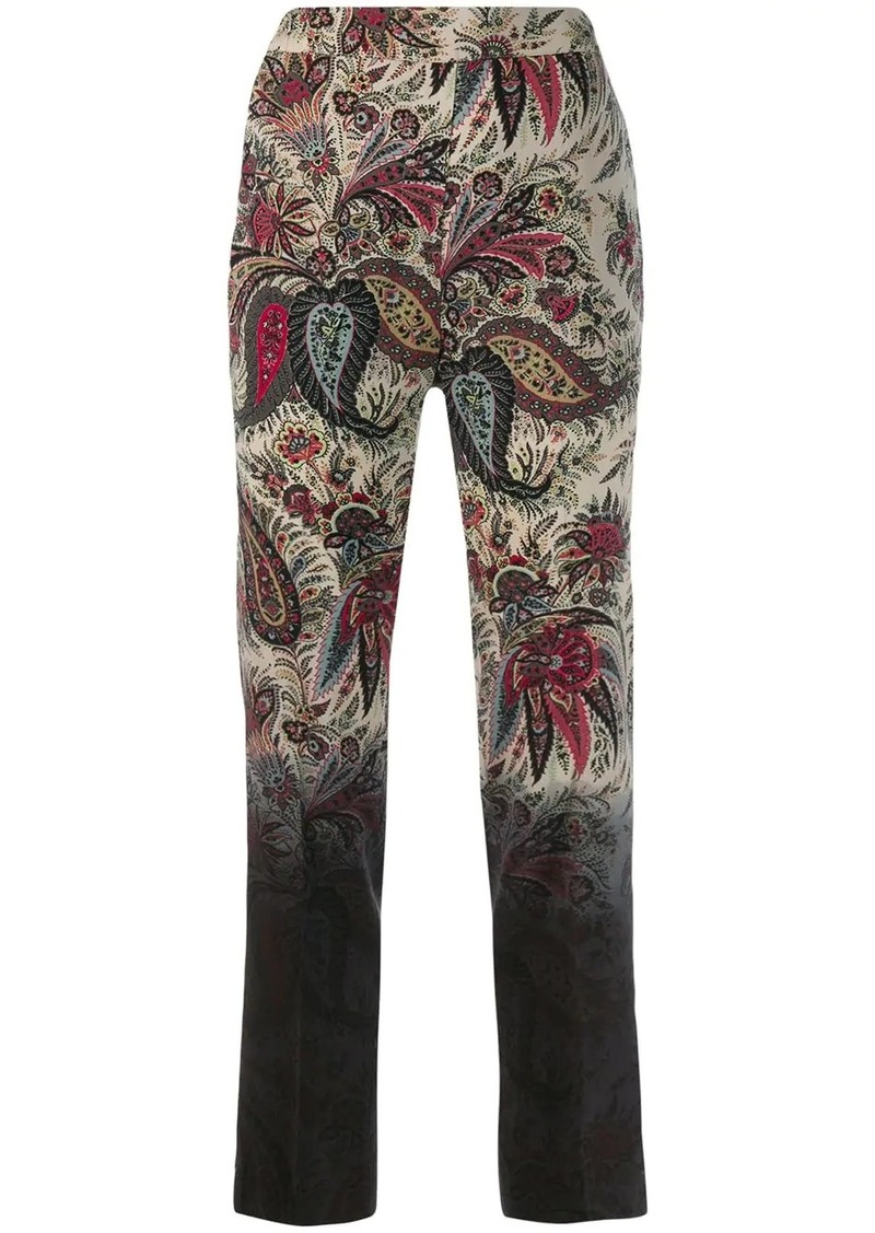 Etro straight leg trousers