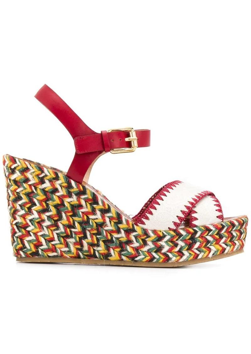 Etro strappy platform sandals
