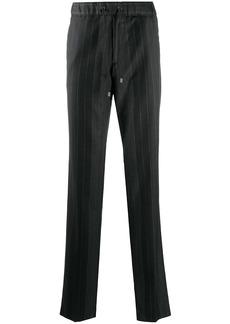 Etro striped drawstring-waist trousers
