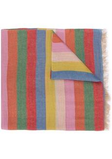 Etro striped print scarf