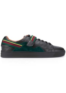 Etro striped strap sneakers