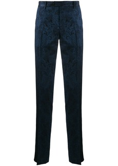 Etro tailored pattered trousers