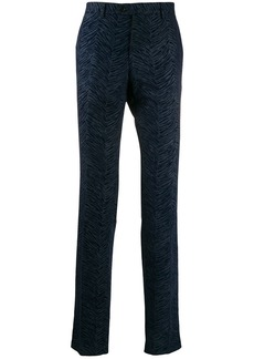 Etro tailored patterned trousers