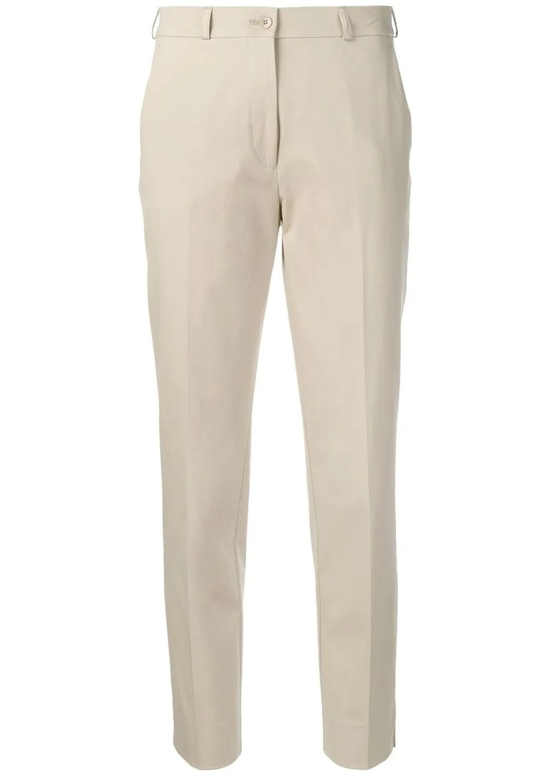 Etro tapered cropped chinos
