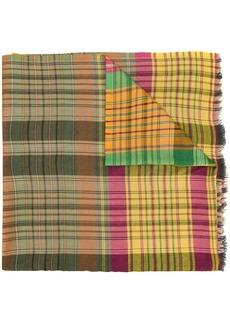 Etro tartan scarf