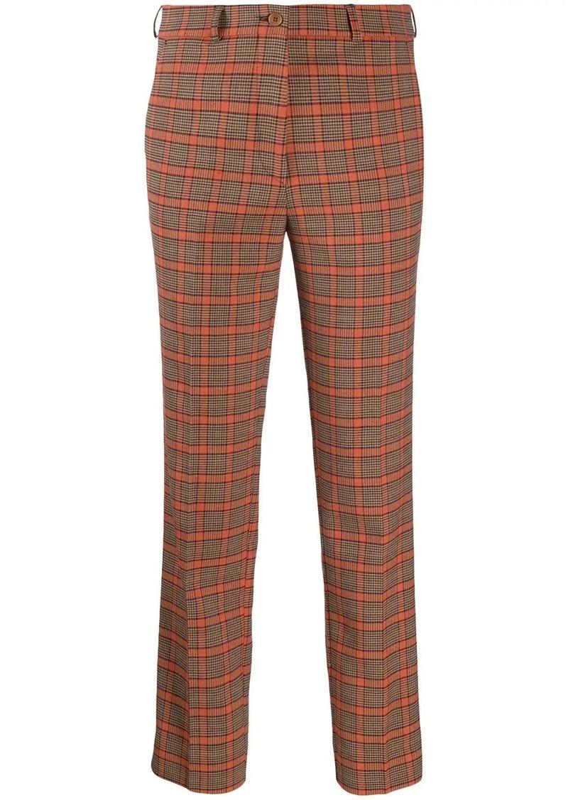 Etro tartan trousers