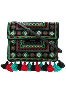 Etro tassel embroidered shoulder bag