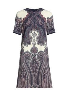 Etro Tavolara Paisley Shift Dress