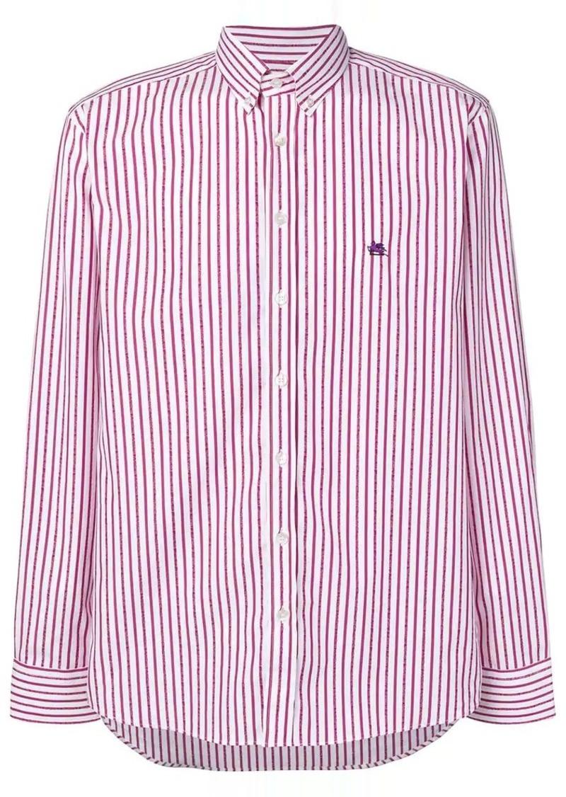 Etro thin stripe shirt