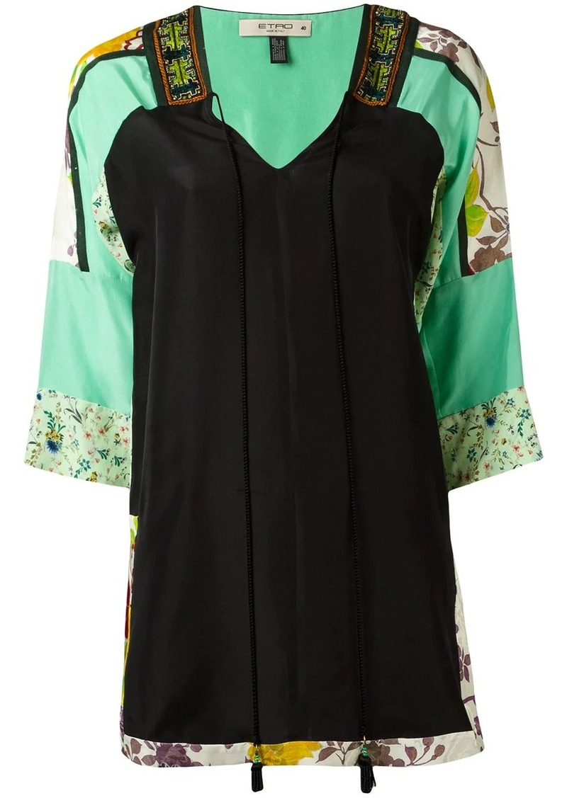 Etro three-quarters sleeve blouse