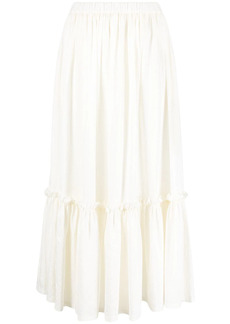 Etro tiered mid-length skirt