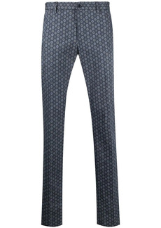 Etro tile-print tailored trousers