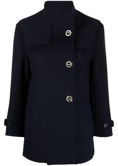 Etro toggle-fastening wool-blend coat