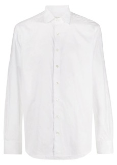 Etro tonal paisley embroidered shirt