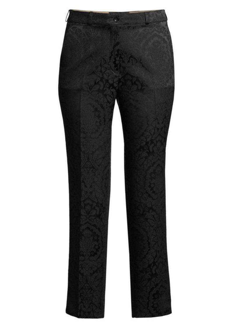 Etro Tonal Paisley Jacquard Trousers