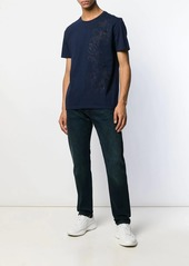 Etro tone-on-tone embroidered T-shirt