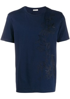 Etro tone-on-tone embroidered T-shirt