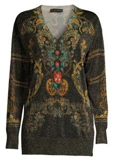 Etro Torero Printed Knit Sweater