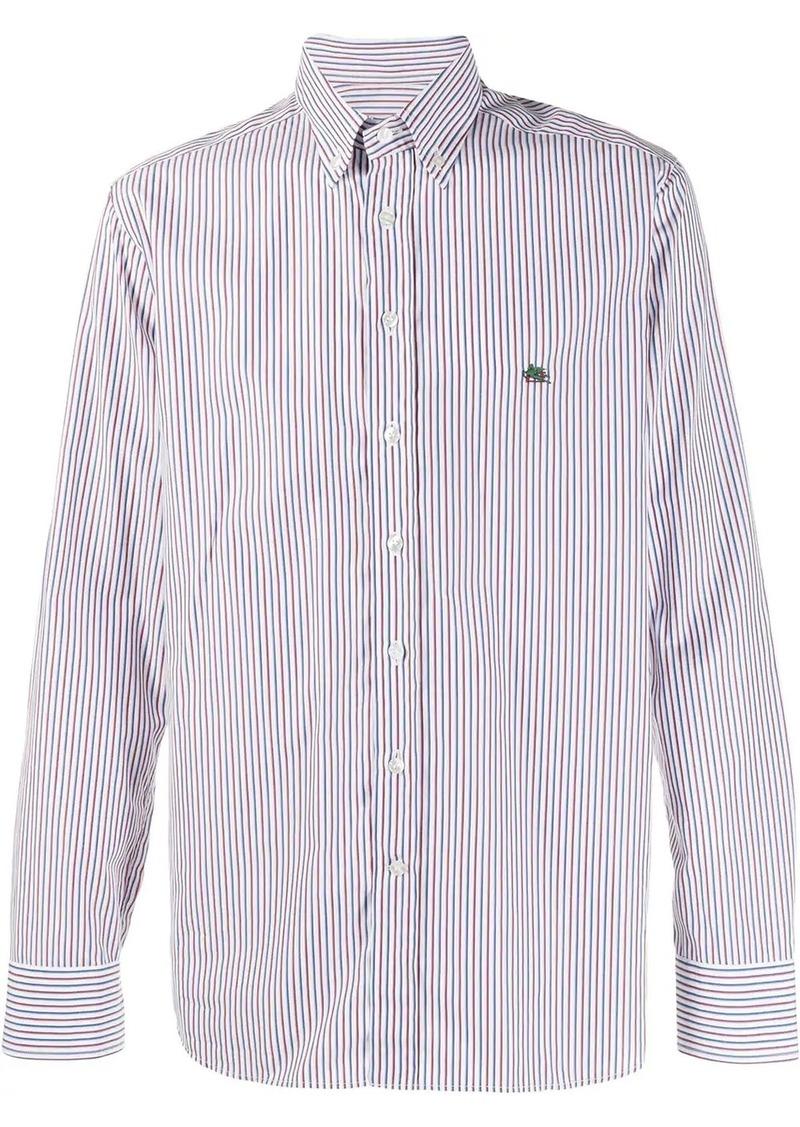 Etro tri-stripe shirt