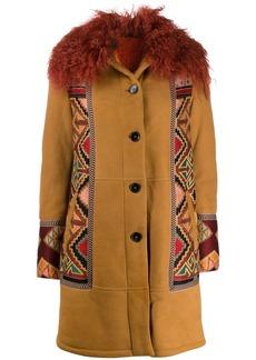 Etro tribal pattern detail coat