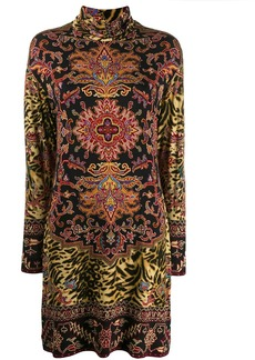 Etro turtle neck dress