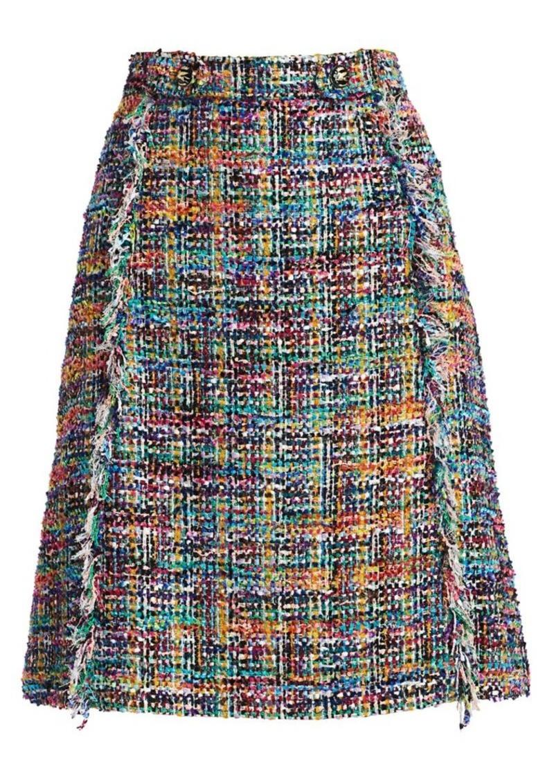 Etro Tweed Bouclé Skirt