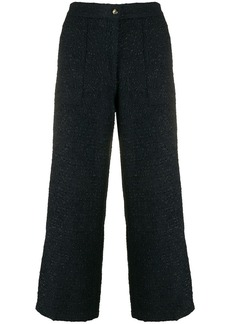 Etro tweed flared trousers
