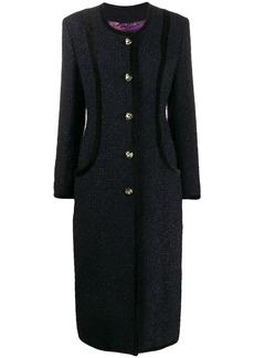 Etro tweed midi coat