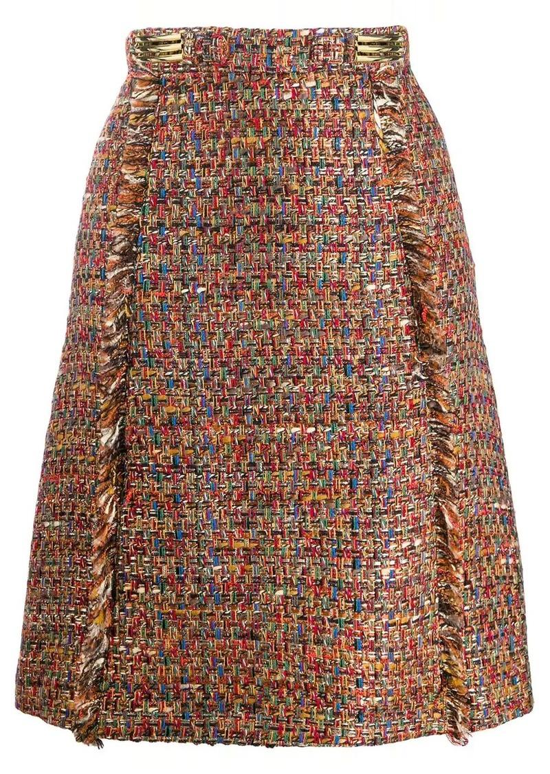 Etro tweed skirt