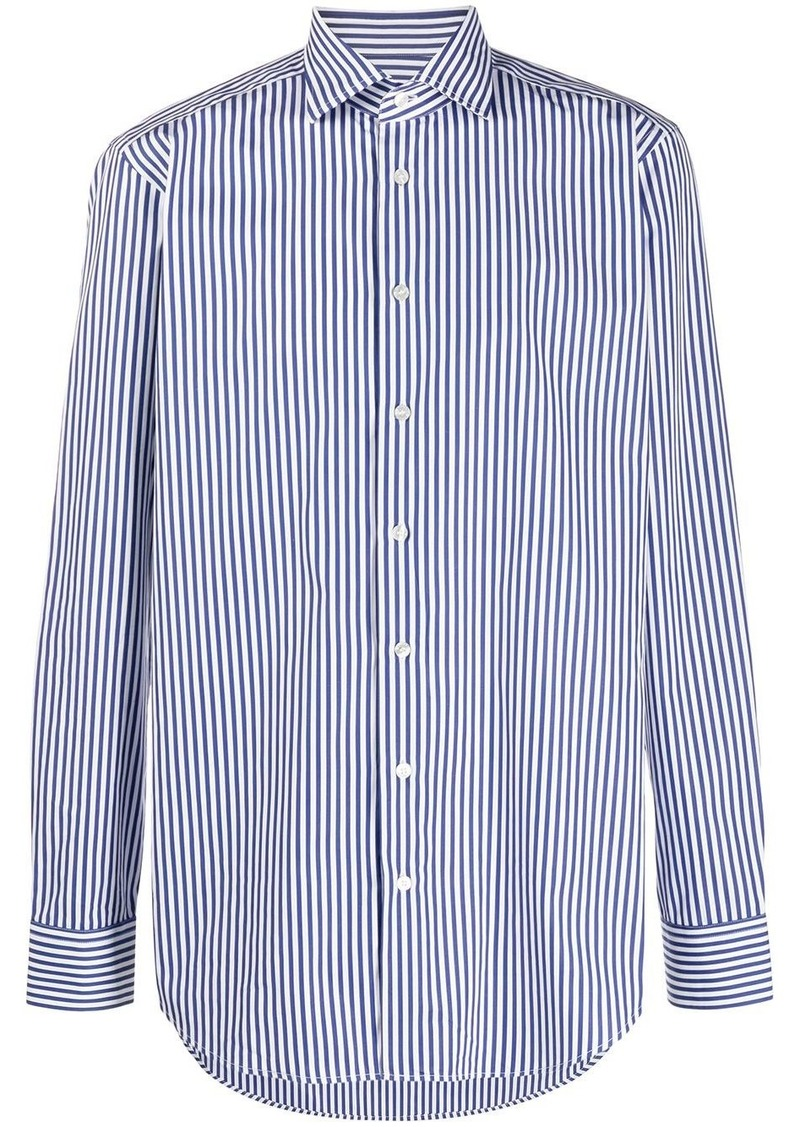 Etro vertical stripe shirt