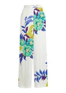 Etro Wide Leg Pants with Print