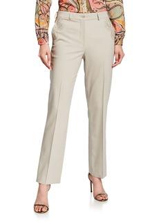 Etro Wool Slash Pocket Trousers
