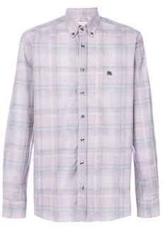 Etro woven check shirt