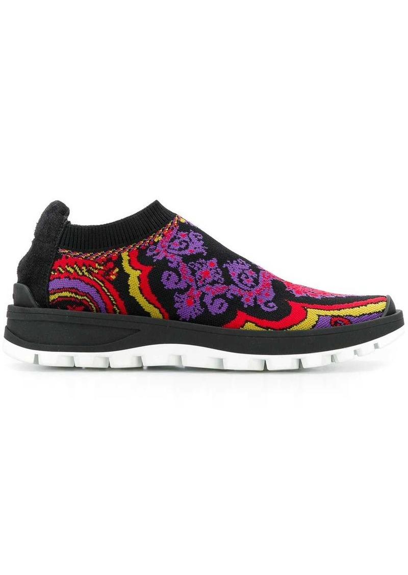 Etro woven sneakers
