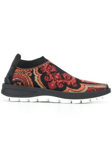 Etro woven trainers