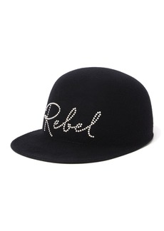 Eugenia Kim Bo Rebel Embellished Cap