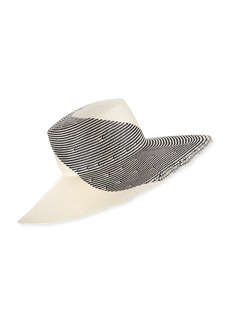 Eugenia Kim Annabelle Two-Tone Graphic Sun Hat