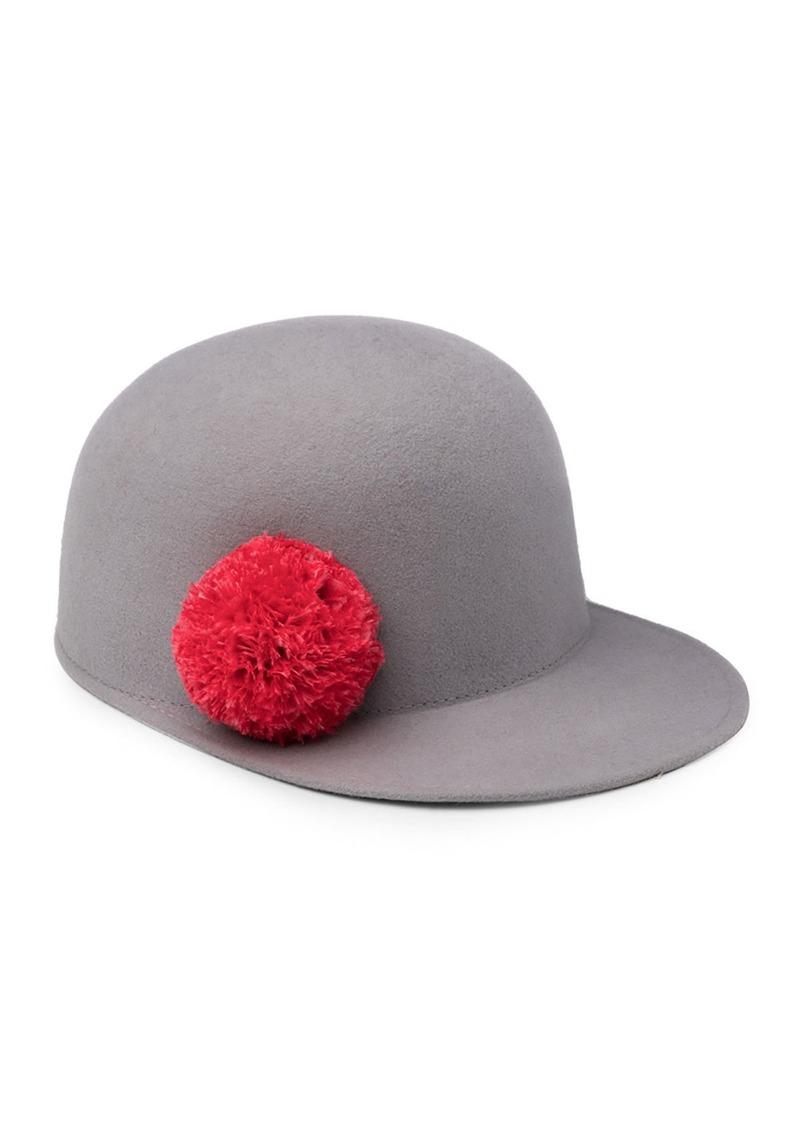 Eugenia Kim Eugenia Kim Bo Wool Felt Baseball Hat  0b67ec5e205