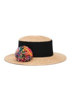 Eugenia Kim Brigitte Straw Boater Hat