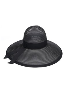 Eugenia Kim Bunny Sheer Sun Hat with Grosgrain
